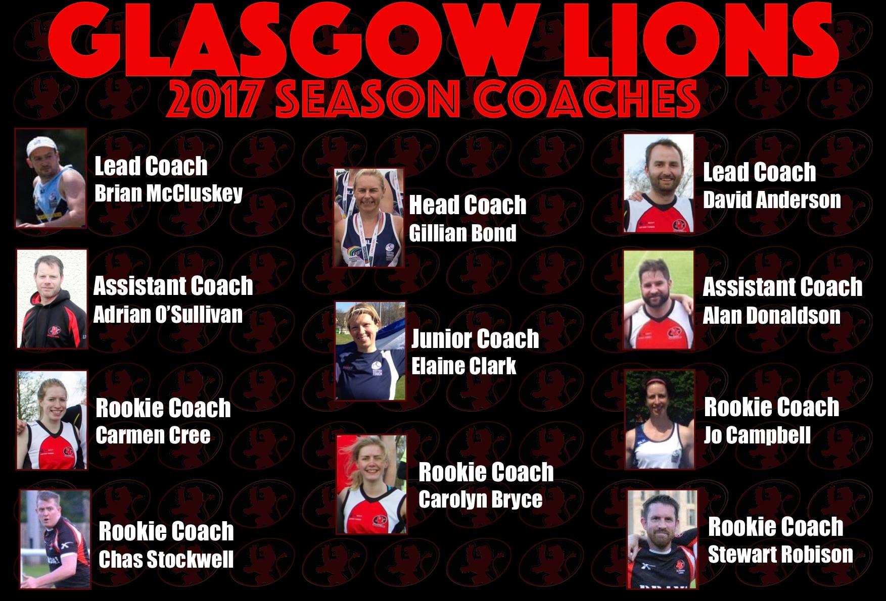 Lions Coaches 2017